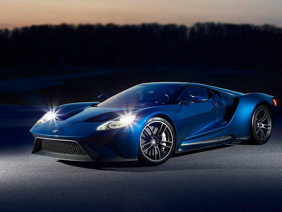 All-new FORD GT Supercar.