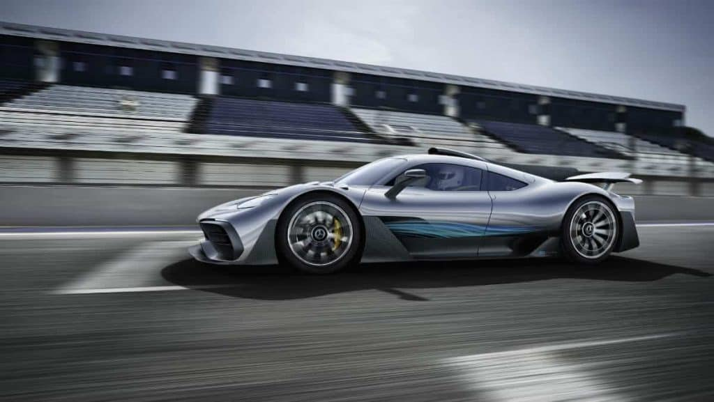 SPORTS CAR MERCEDES AMG PROJECT ONE