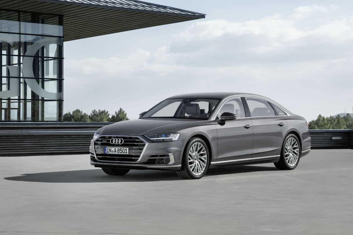 The new AUDI A8 – future of the luxury class.