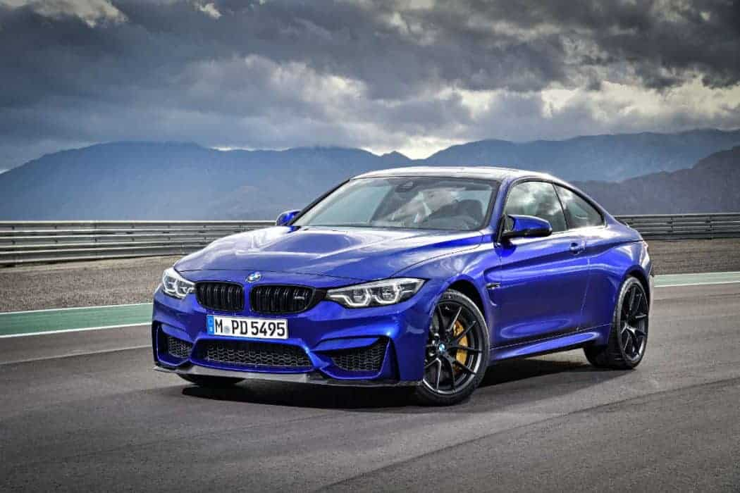 The new BMW M4 CS.