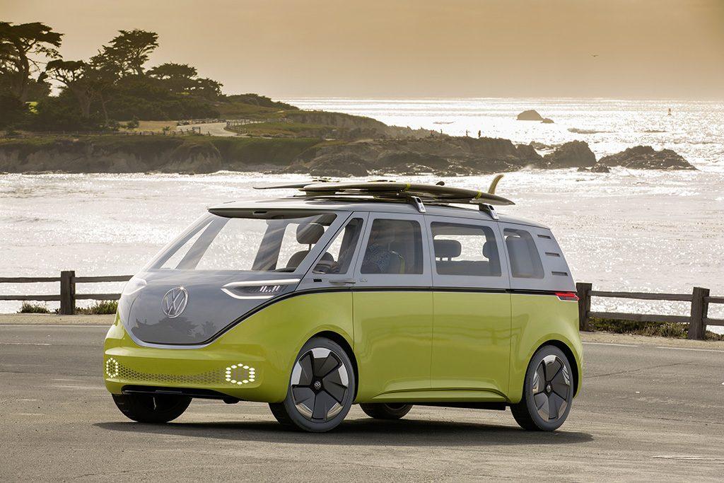 ELECTRIC CAR VW I.D. BUZZ