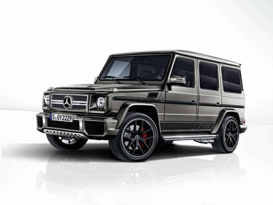 MERCEDES AMG G 63 AND G 65
