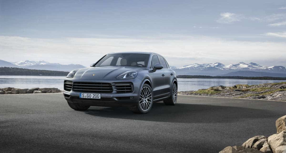 Third generation of the PORSCHE CAYENNE unveiled.