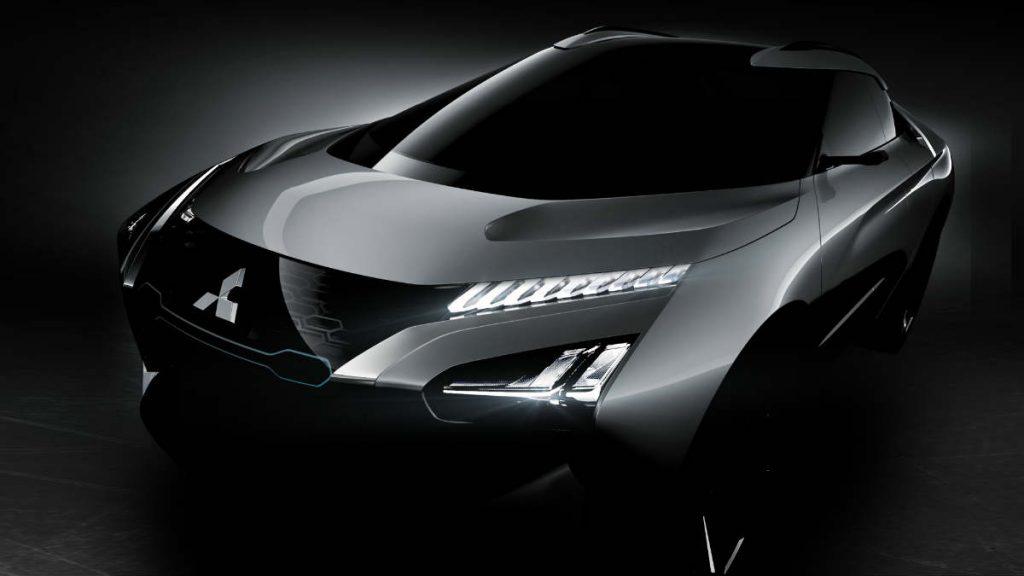 ELECTRIC CAR CONCEPT MITSUBISHI-e-EVOLUTION