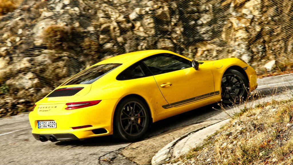SPORTS CAR PORSCHE 911 CARRERA T