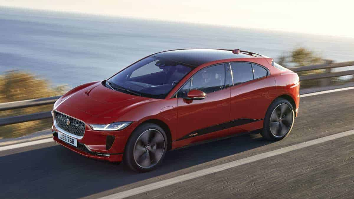 All new electric JAGUAR I-PACE