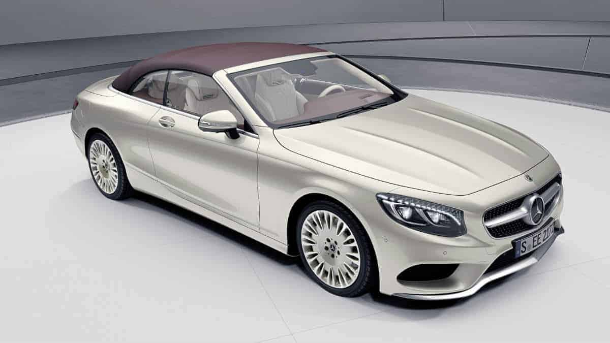 The new MERCEDES S-CLASS Coupe and Cabriolet.