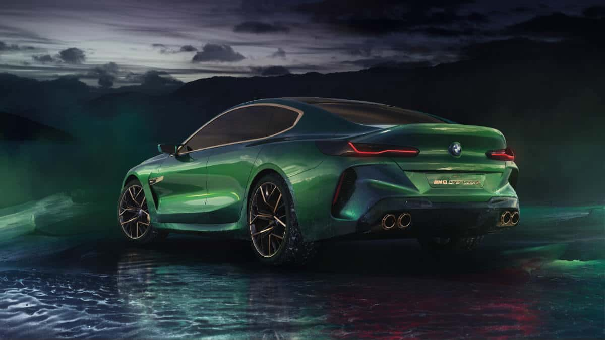 SPORTS CAR BMW M8 GRAN COUPE