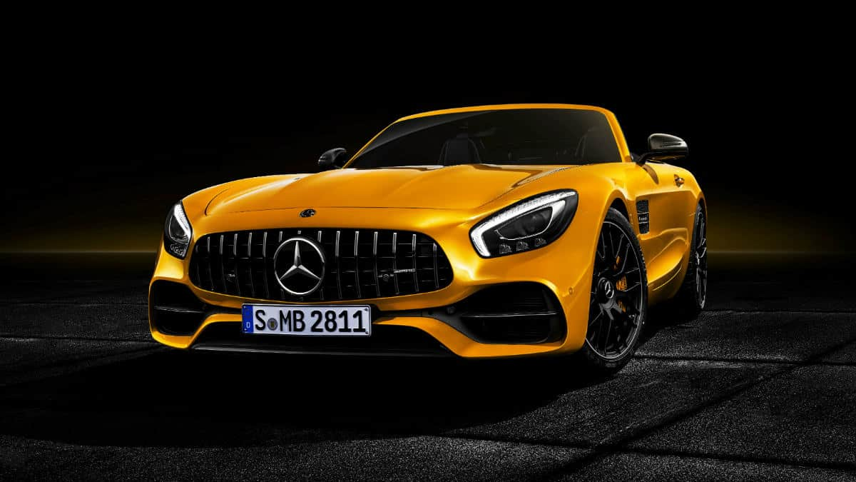 SPORTS CAR MERCEDES-AMG GT S ROADSTER