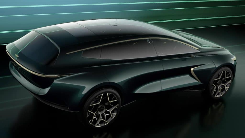 ELECTRIC VEHICLE CONCEPT ASTON MARTIN LAGONDA SUV