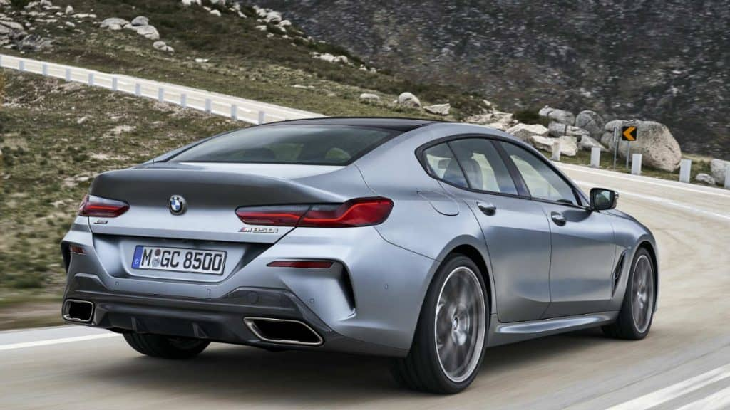 LUXURY GT CAR BMW 8 GRAN COUPE