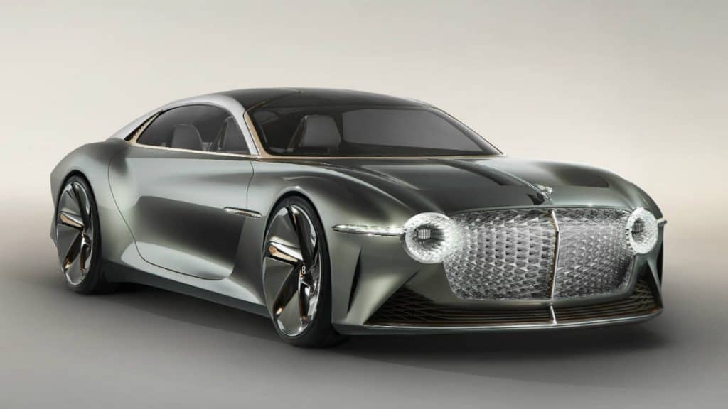 LUXURY ELECTRIC CONCEPT CAR BENTLEY EXP 100 GT