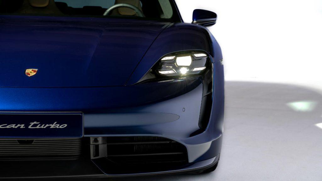 ELECTRIC SPORTS CAR PORSCHE TAYCAN