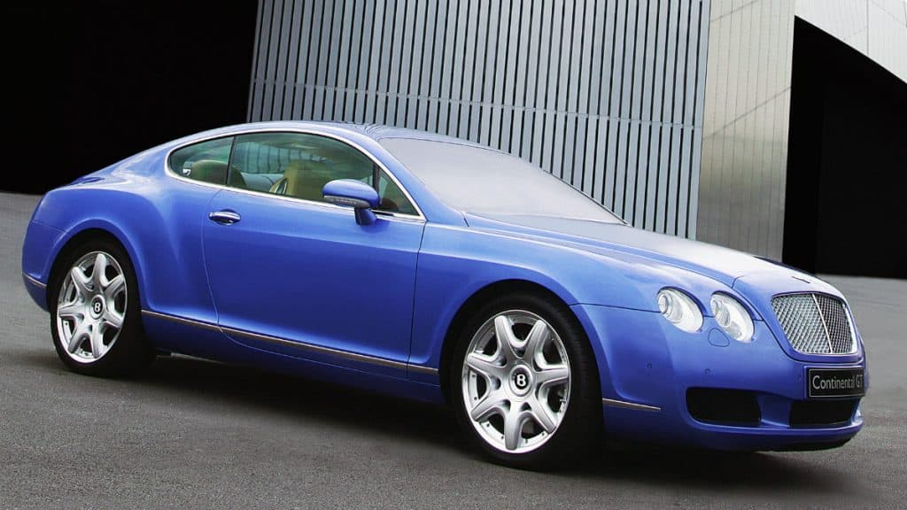 LUXURY SPORTS CAR BENTLEY CONTINENTAL GT