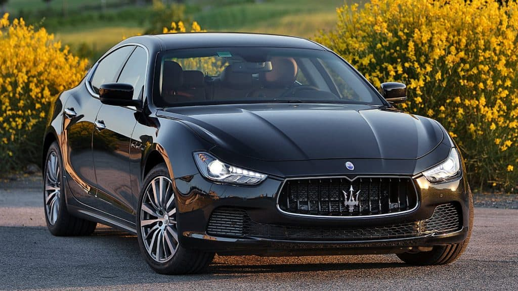 LUXURY CAR MASERATI GHIBLI
