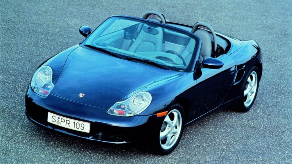 SPORTS CAR PORSCHE BOXSTER