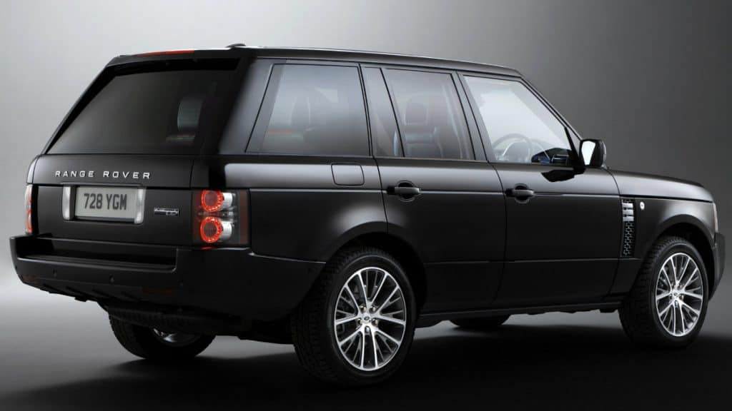 LUXURY SUV RANGE ROVER