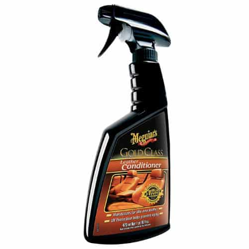 Best leather cleaner and leather conditioner Meguiar's G18616 Gold Class