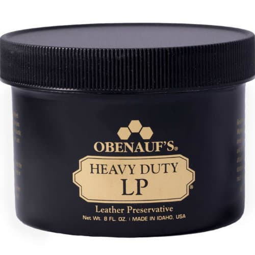 Best leather cleaner and leather conditioner Obenauf's Heavy Duty LP