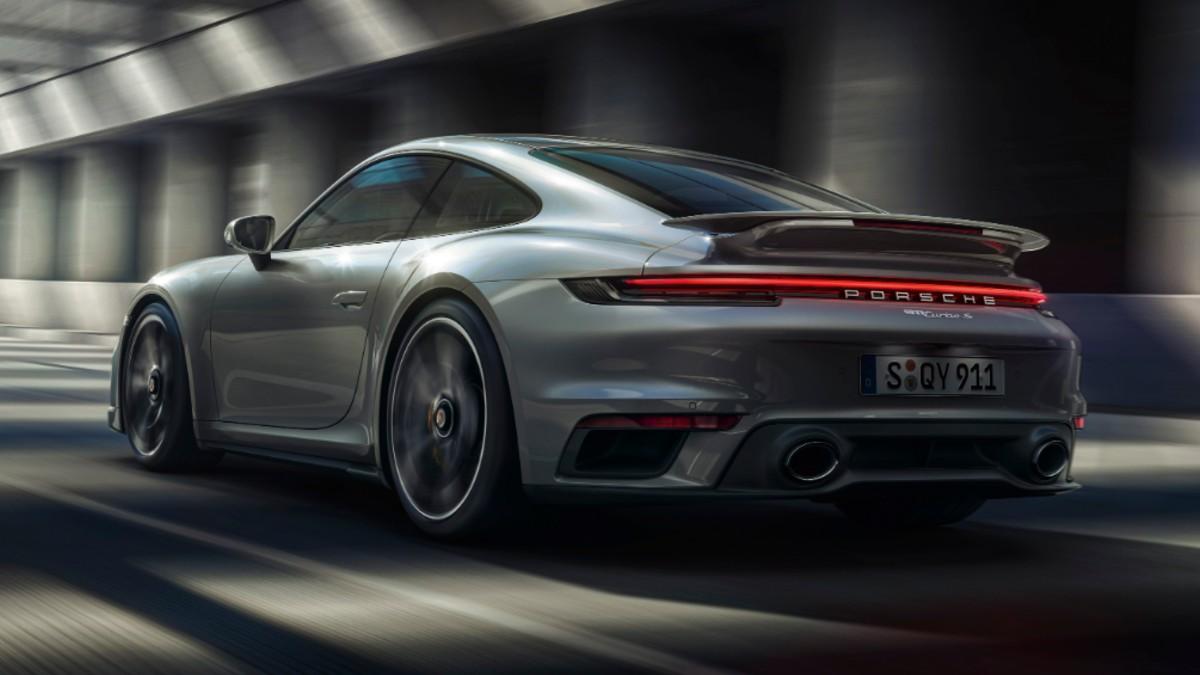 SPORTS CAR PORSCHE 911 TURBO S